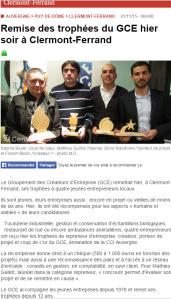 Article la montagne Trophées 2015