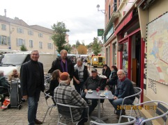 Echange au café de Bilom