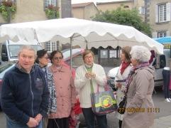 Au marché de Pont du Château